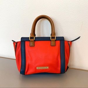 Vince Camuto Colorblock Red & Blue Purse